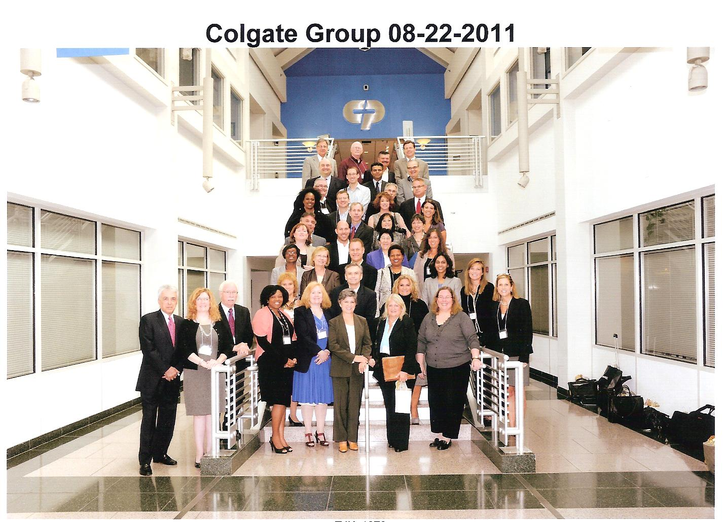Photo of NJOD members at Colgate-Palmolive